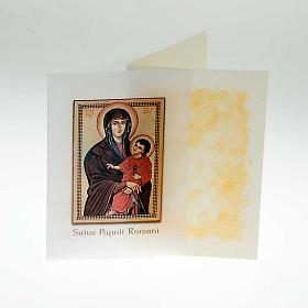 Religious card, Salus Popoli Romani s2