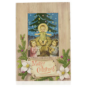 Greeting cards: Christmas Card with Baby Jesus