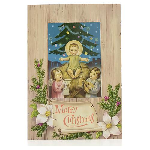 Cartão de Natal Menino Jesus 1