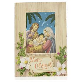 Cartão de Natal Sagrada Família Merry Christmas s1