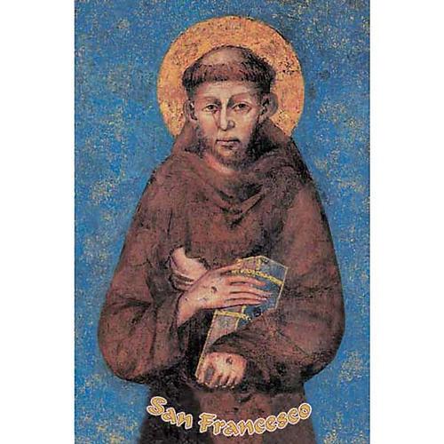 Holy card, St Francis 1