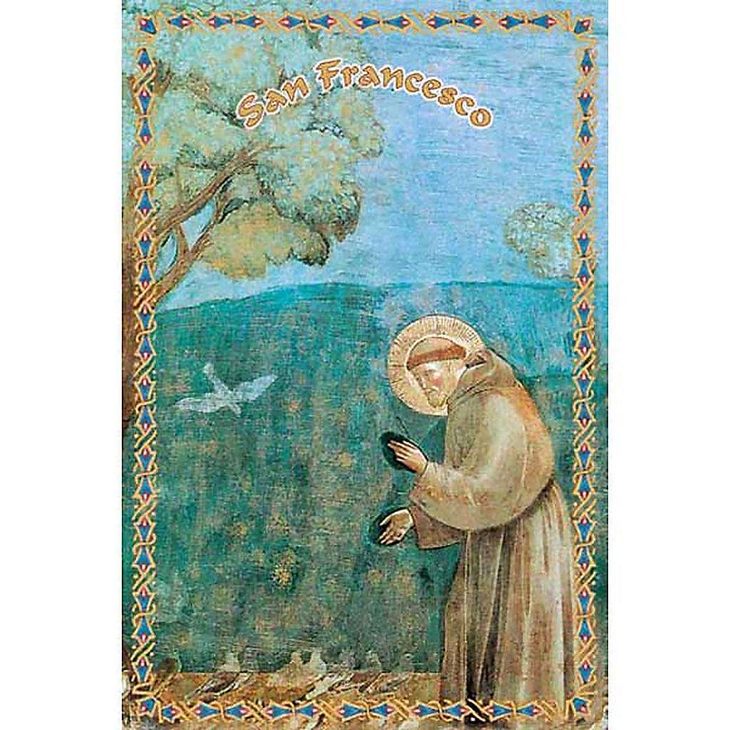 Santino San Francesco predica agli uccelli 4