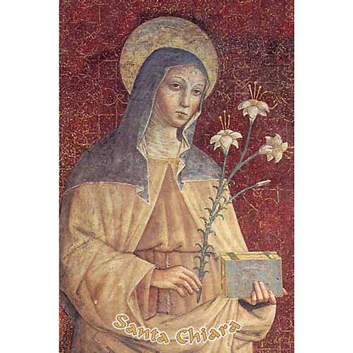 Image pieuse Sainte Claire 1