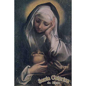 Santino Santa Caterina in preghiera s1