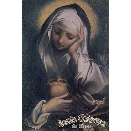 Santino Santa Caterina in preghiera 1