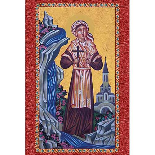 Estampa Santa Bernadette 1