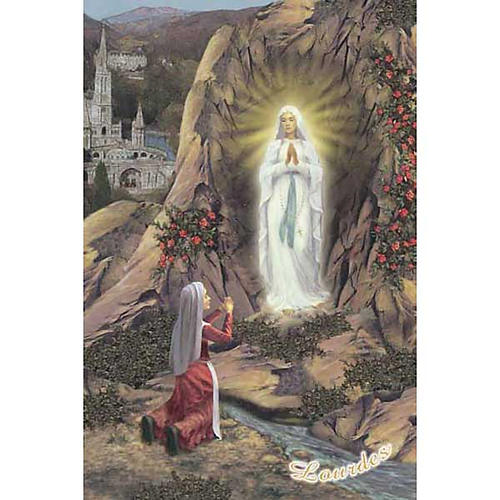 Santino Grotta di Lourdes e Santuario 1