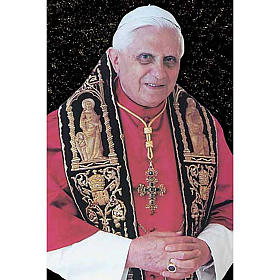 Pope Benedict XVI holy card s1