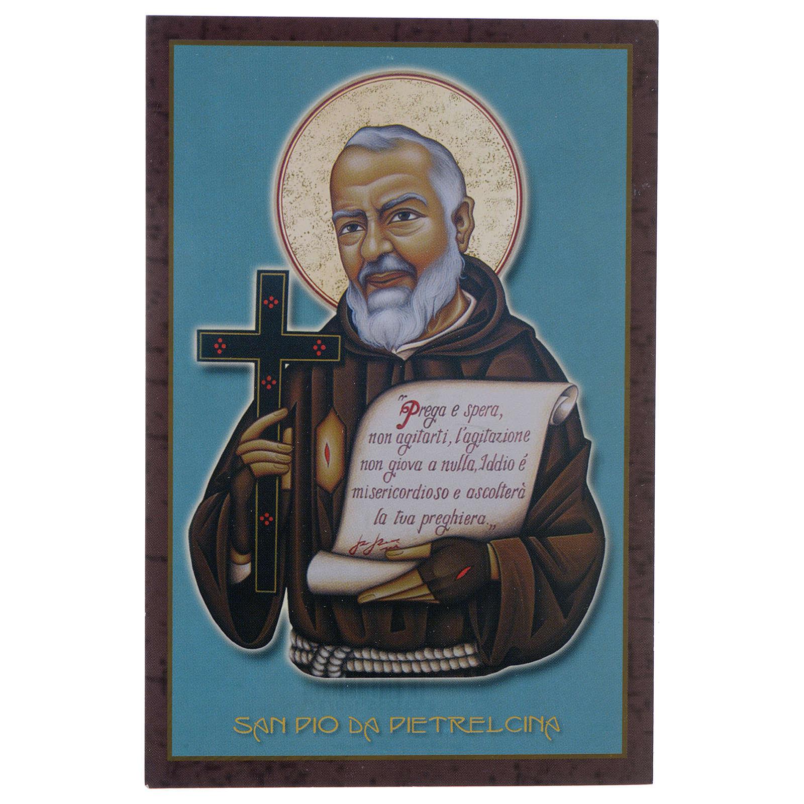 Obrazek święty Ojciec Pio z Pietrelcina 4