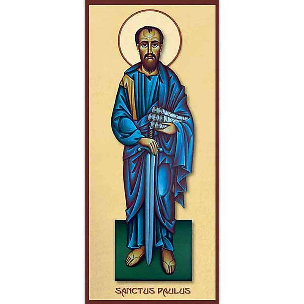 Estampa religiosa San Pablo 4