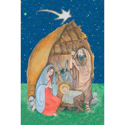 Estampa Choza de Navidad 1