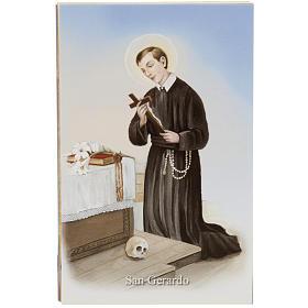 Estampa S. Gerardo oración Italiano s1