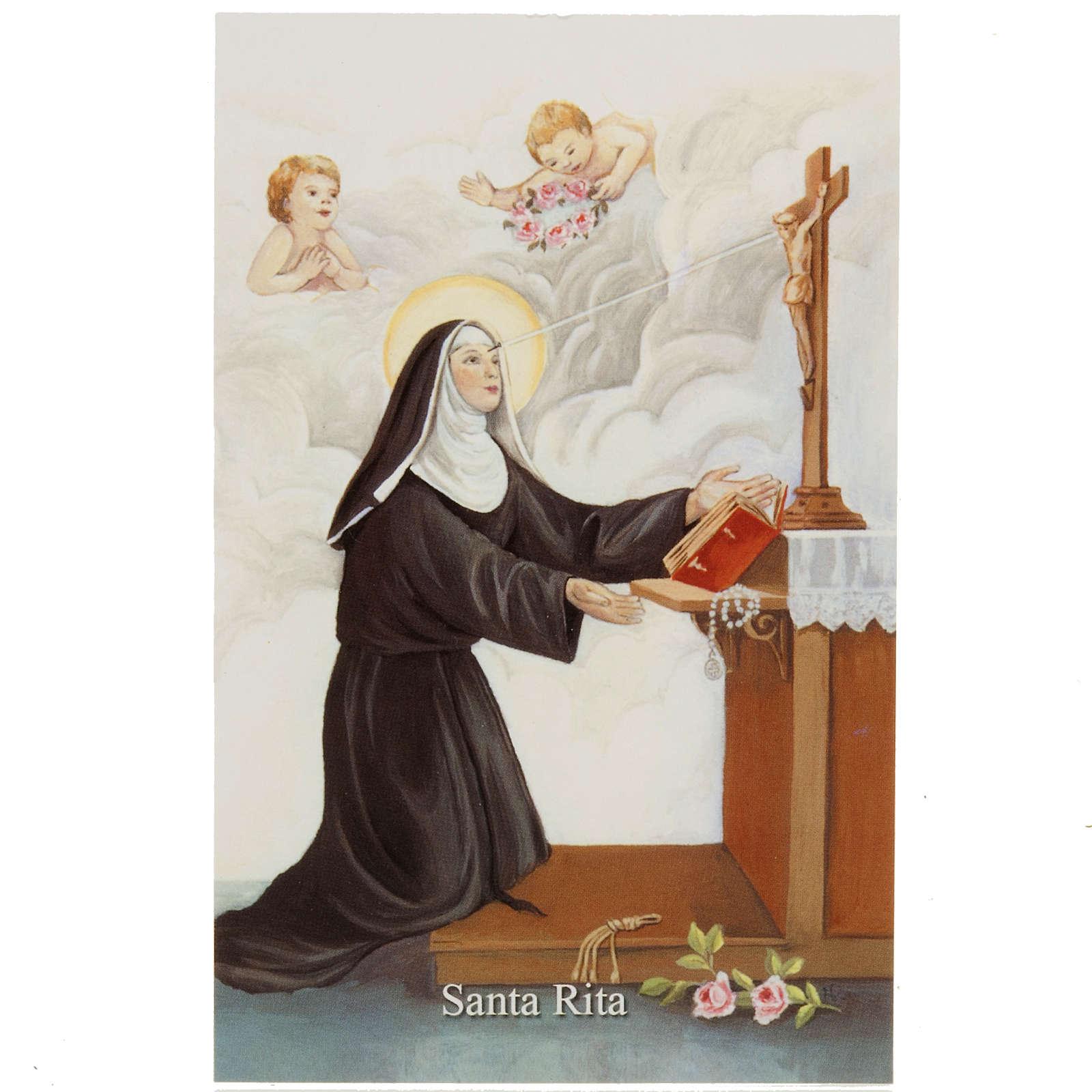 Image pieuse Sainte Rita 4