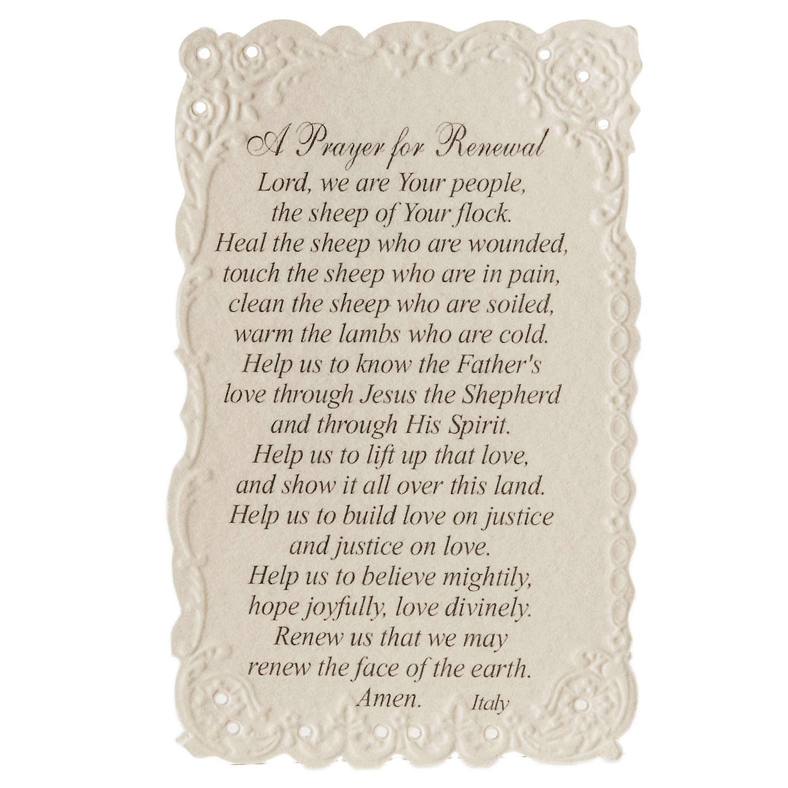 Estampa Jesus the good shepherd (inglés) 4