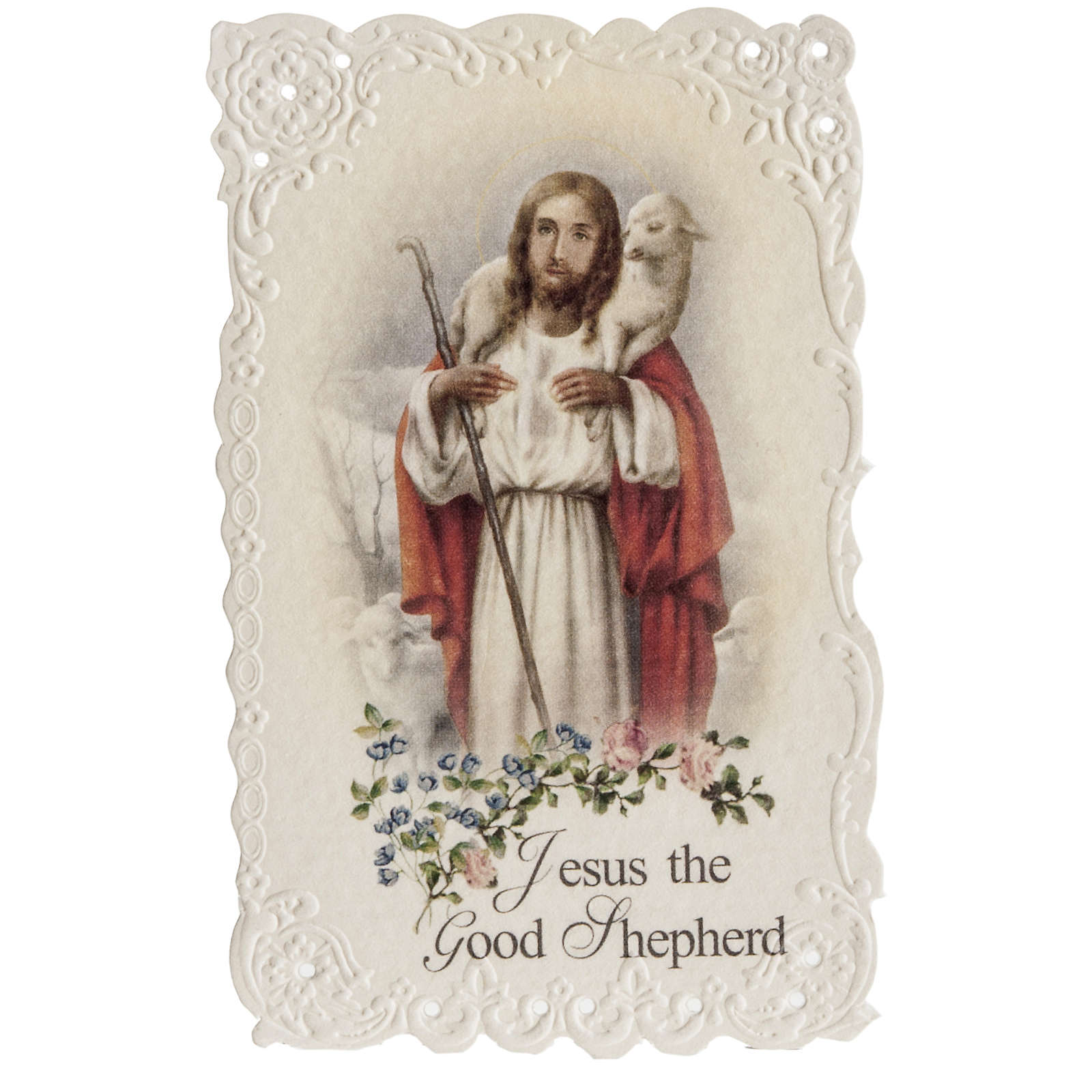 Santino Jesus the good shepherd (inglese) 4
