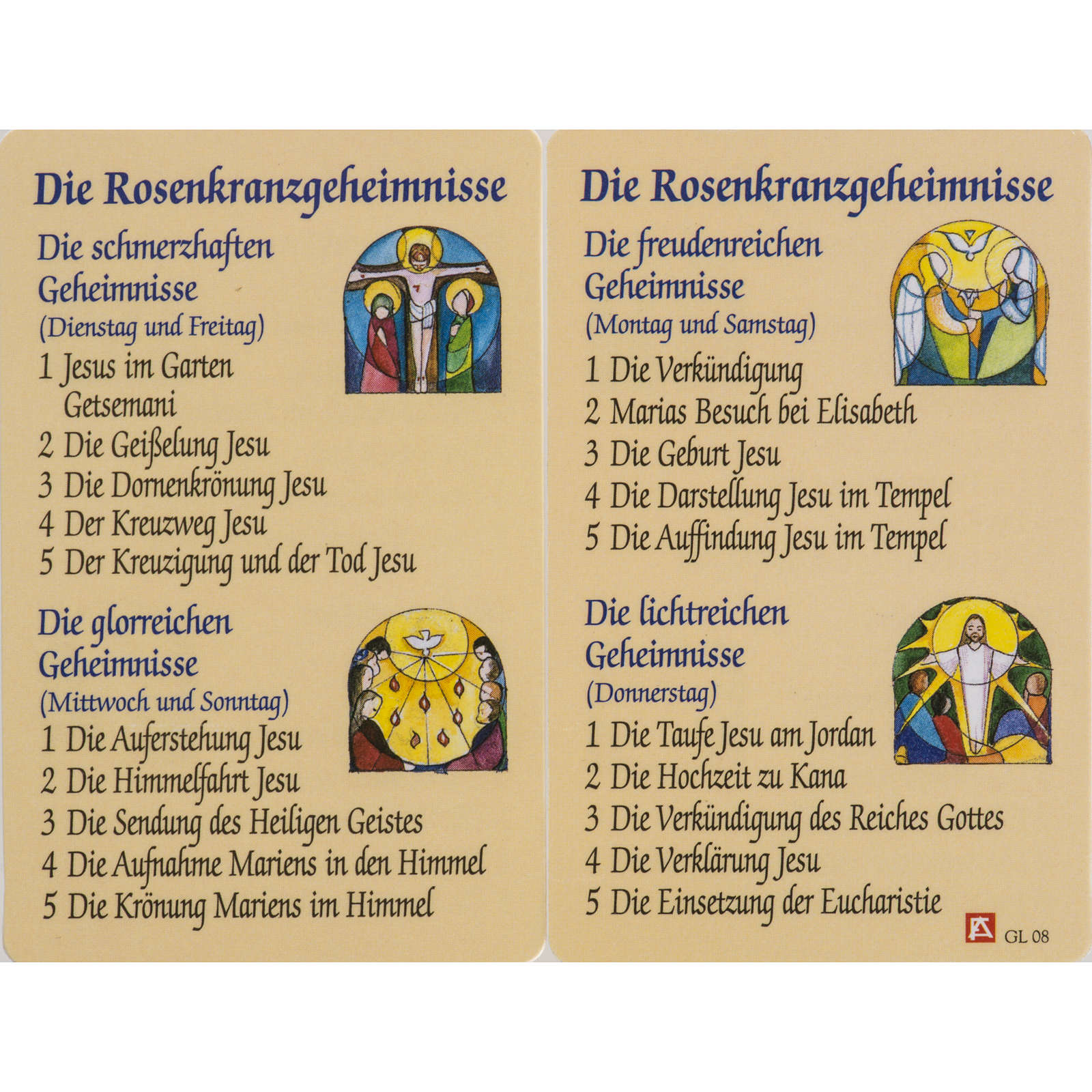 Holy card, Saint Benedict XVI laminated 4