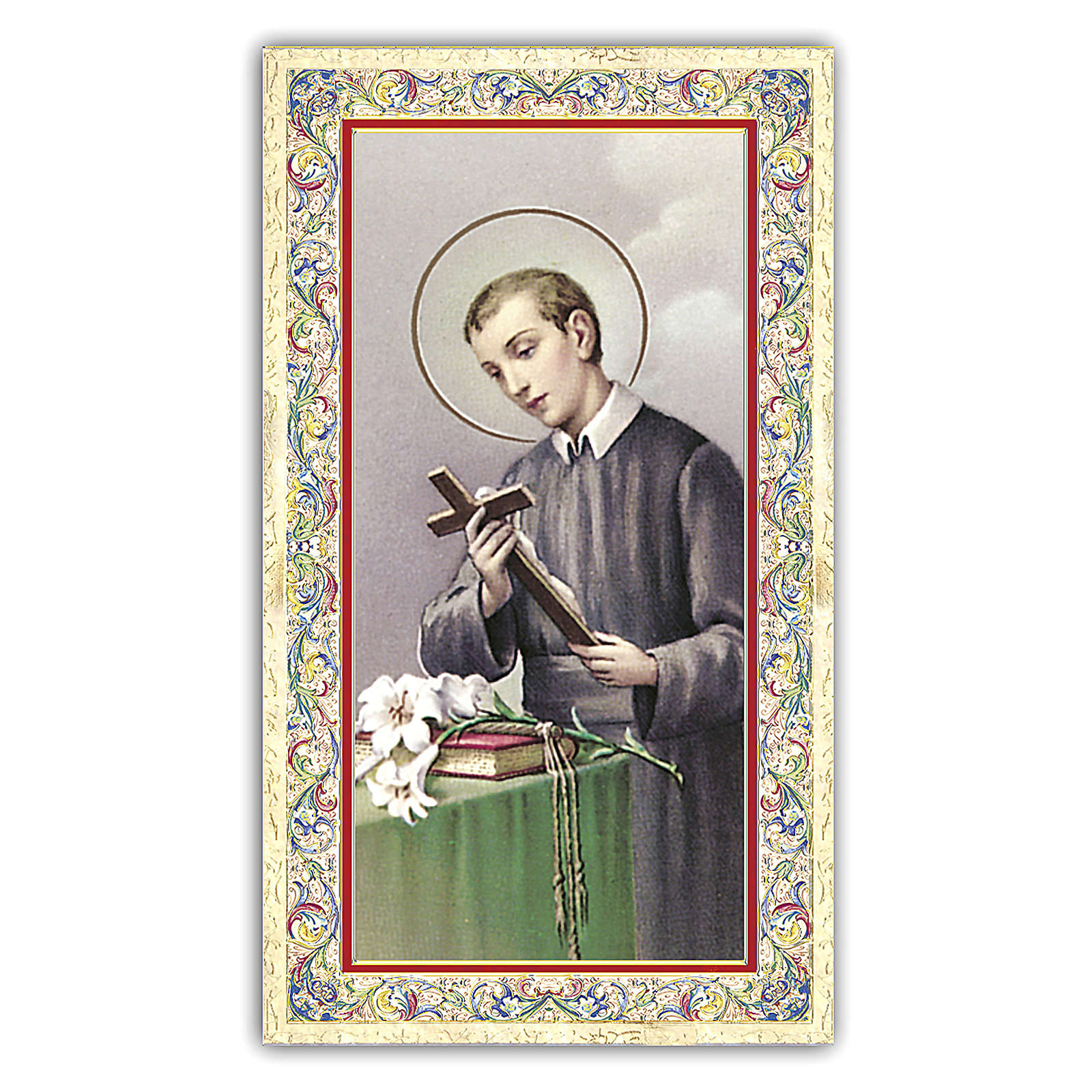 Image pieuse St Gérard Majella 10x5 cm 4