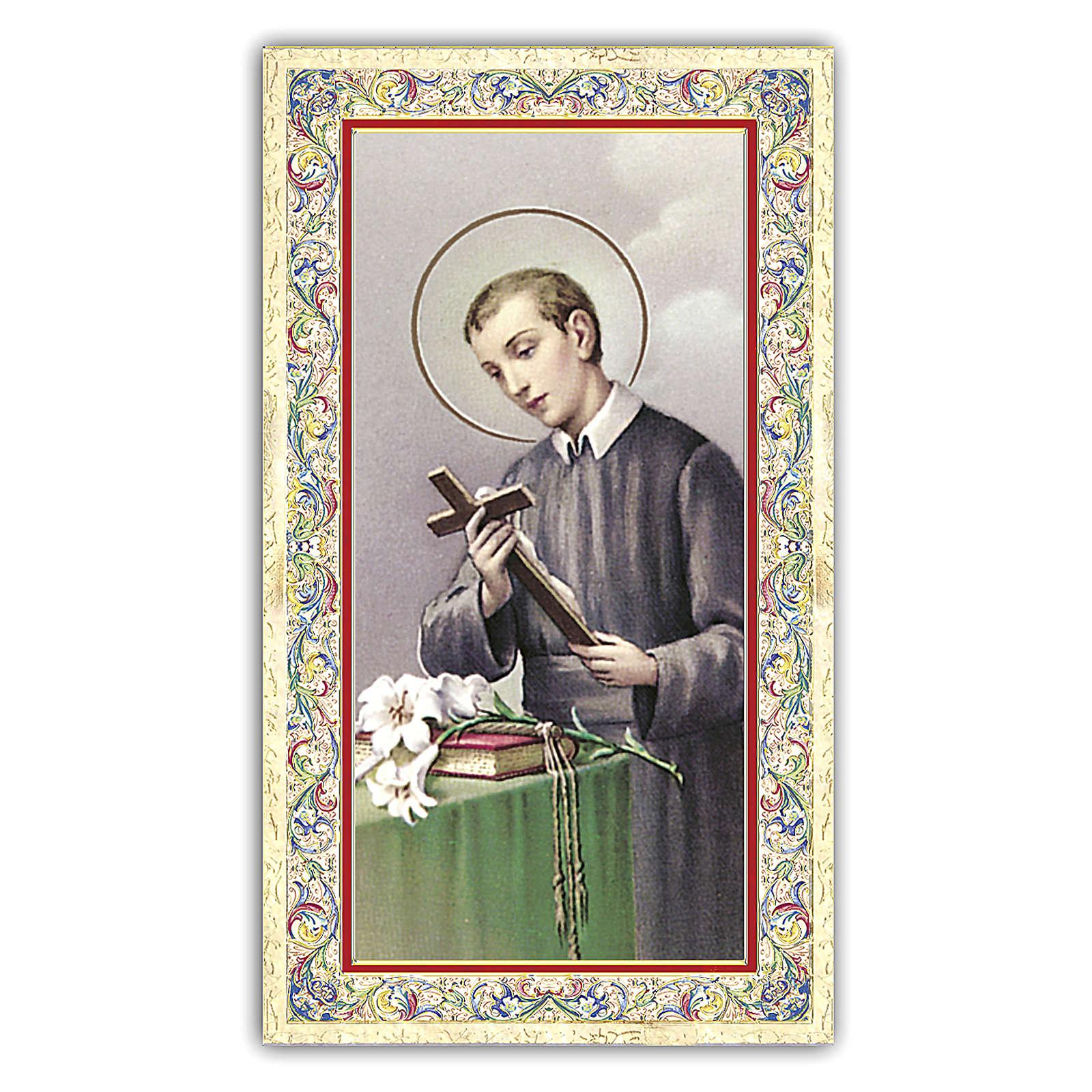 Santino San Gerardo della Maiella 10x5 cm ITA 4