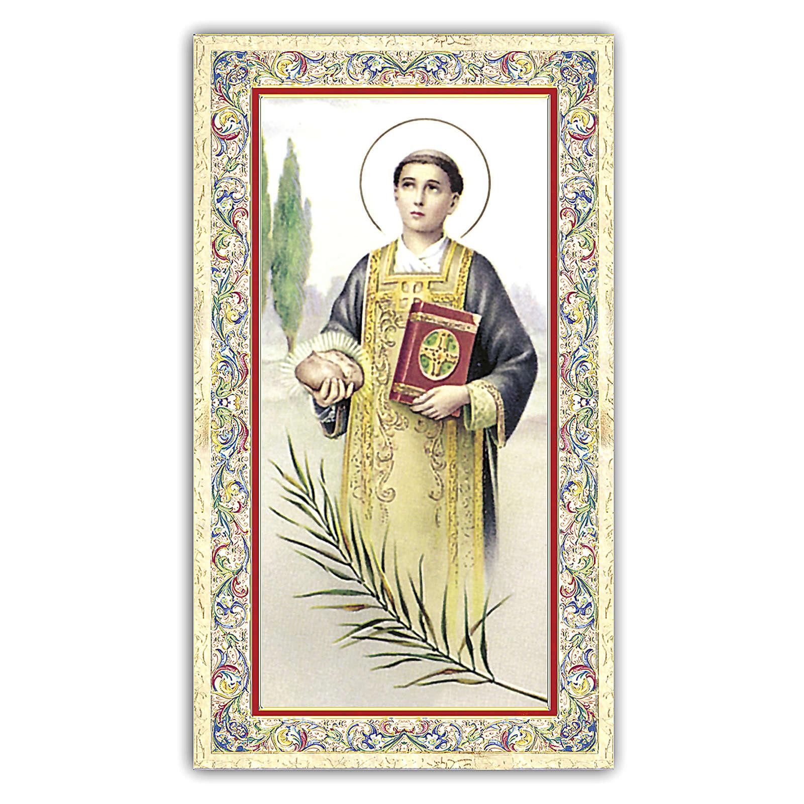 Santino Santo Stefano 10x5 cm ITA 4