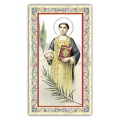 Santino Santo Stefano 10x5 cm ITA 1