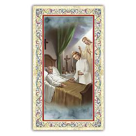 Santino l'immagine simbolica di Gesù al capezzale di un malato 1 ITA s1