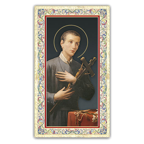 Holy card, Saint Gerard Majella, Prayer ITA 10x5 cm 1