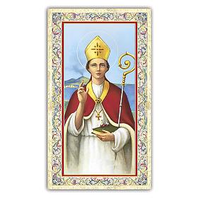 Images pieuses: Image dévotion St Janvier 10x5 cm