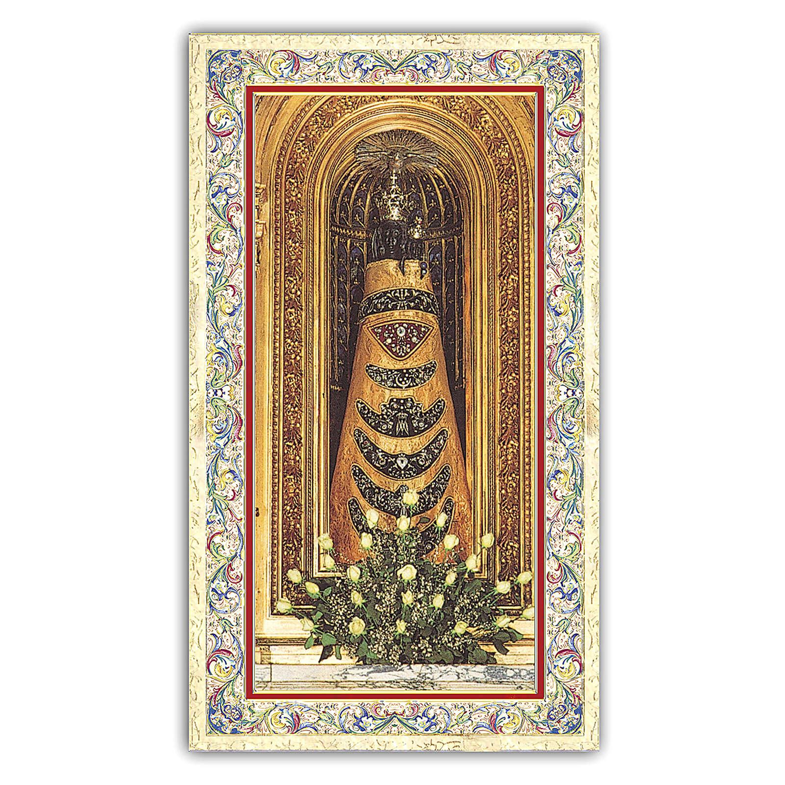 Santino Statua della Madonna di Loreto 10x5 cm ITA 4