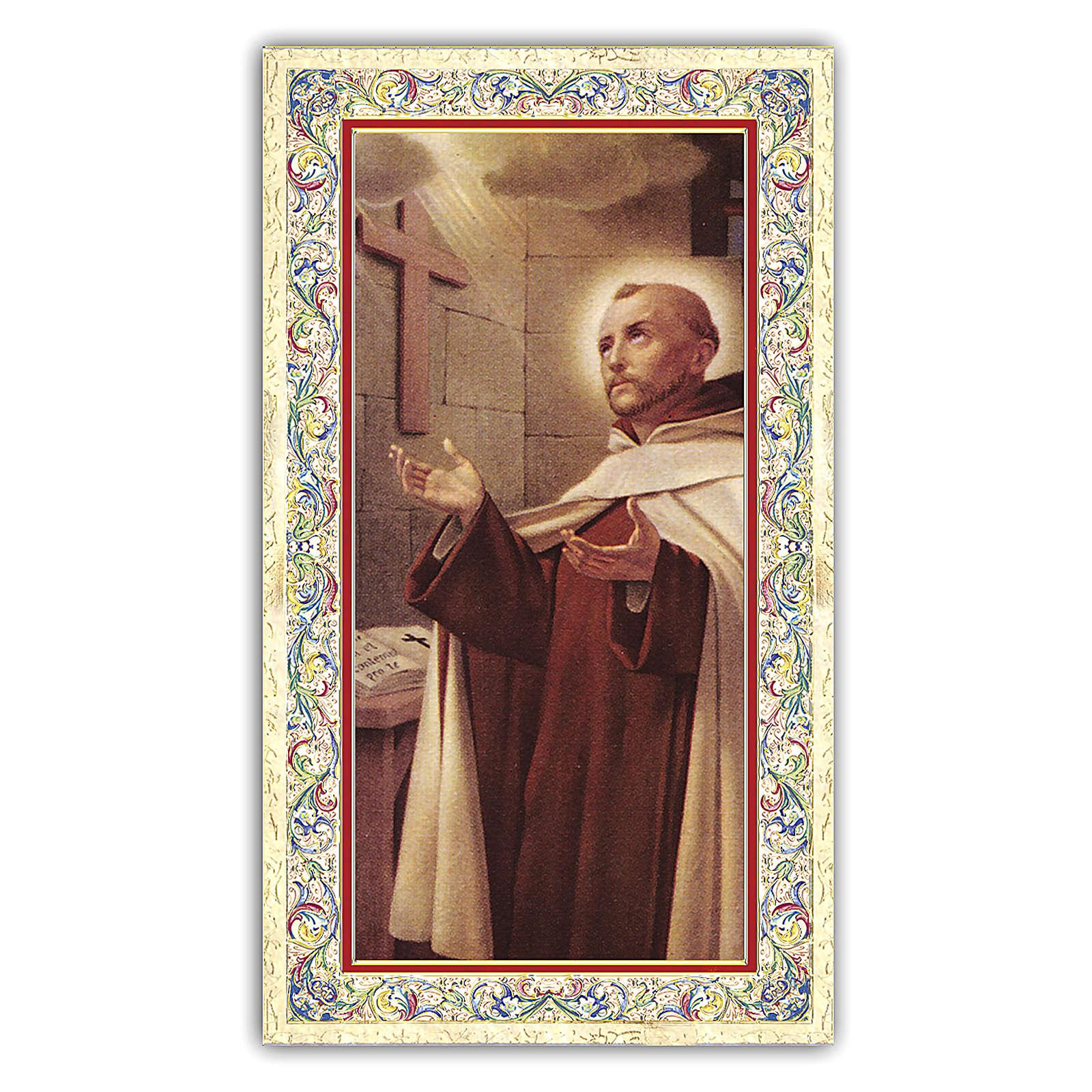Santino Giovanni della Croce 10x5 cm ITA 4