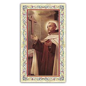 Santino Giovanni della Croce 10x5 cm ITA s1