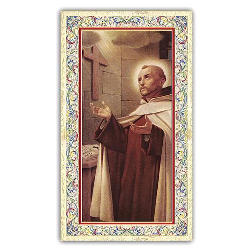 Santino Giovanni della Croce 10x5 cm ITA 1