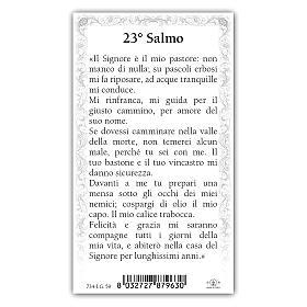 Santino Gesù Buon Pastore 10x5 cm ITA s2