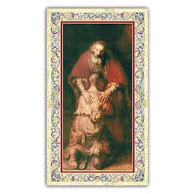 Santino Figliol Prodigo 10x5 cm ITA s1