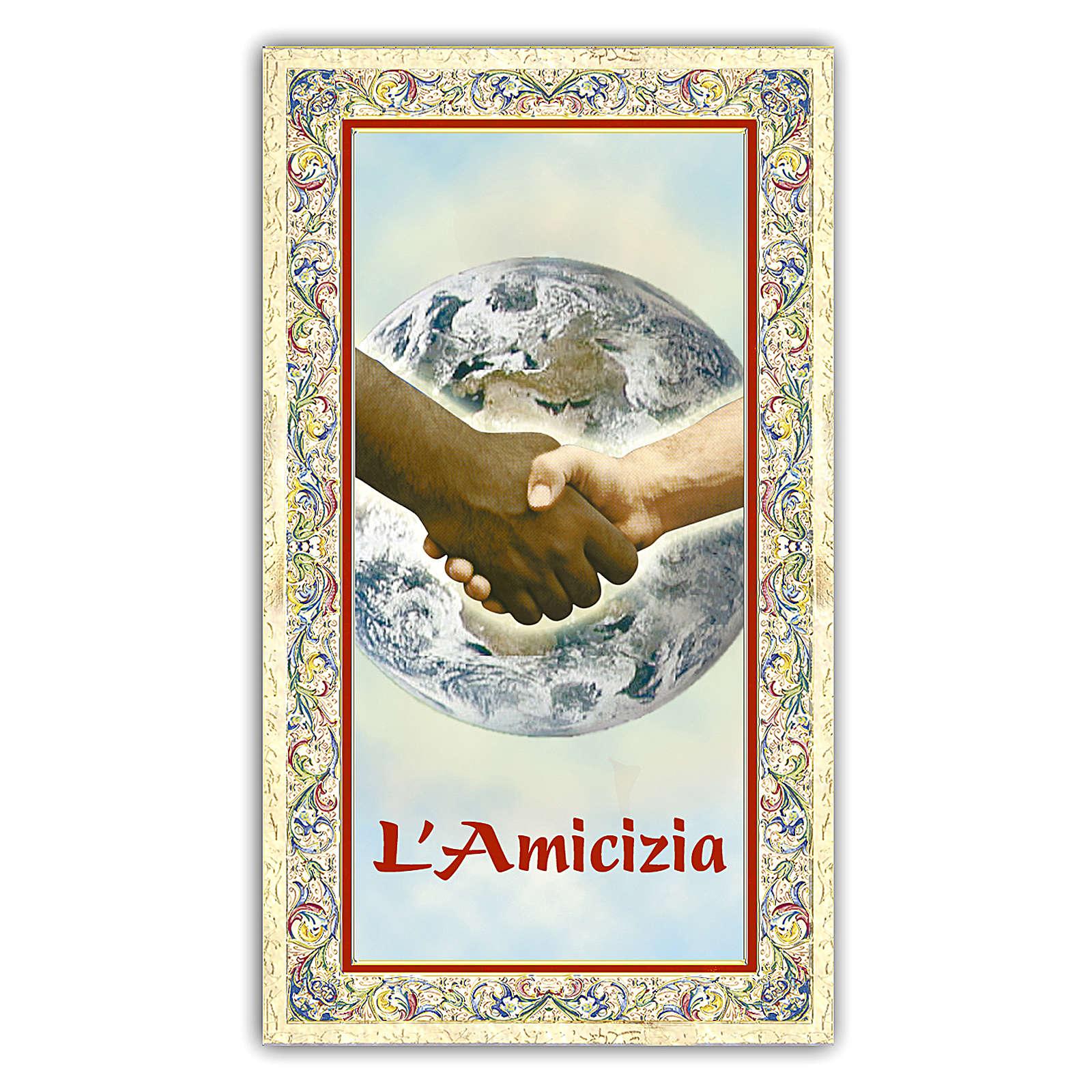 Santino immagine simbolica 10x5 cm ITA 4