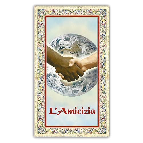 Santino immagine simbolica 10x5 cm ITA 1