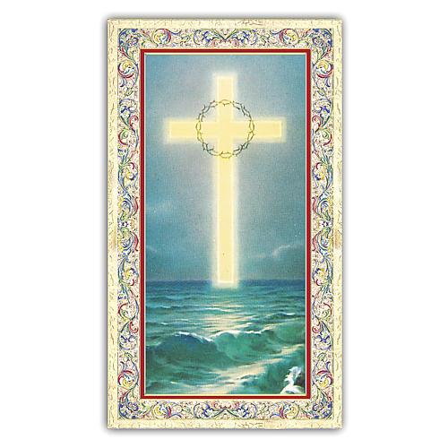 Santino  Croce sul Mare 10x5 cm ITA 1