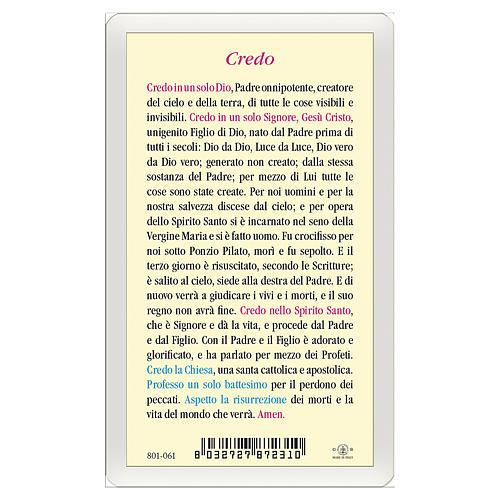 Santino Trinità Credo ITA 10x5 2