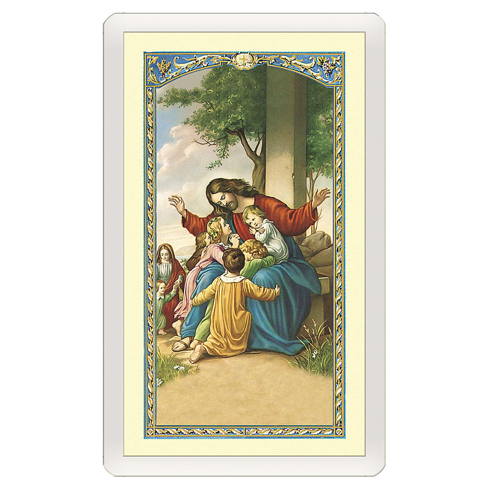 Santino Gesù con i pargoli Valore di un Sorriso ITA 10x5 4