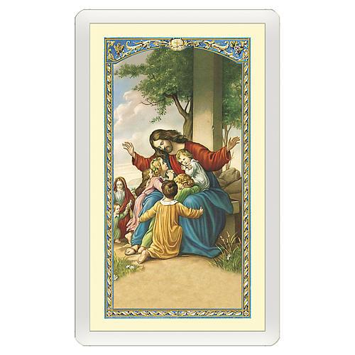 Santino Gesù con i pargoli Valore di un Sorriso ITA 10x5 1