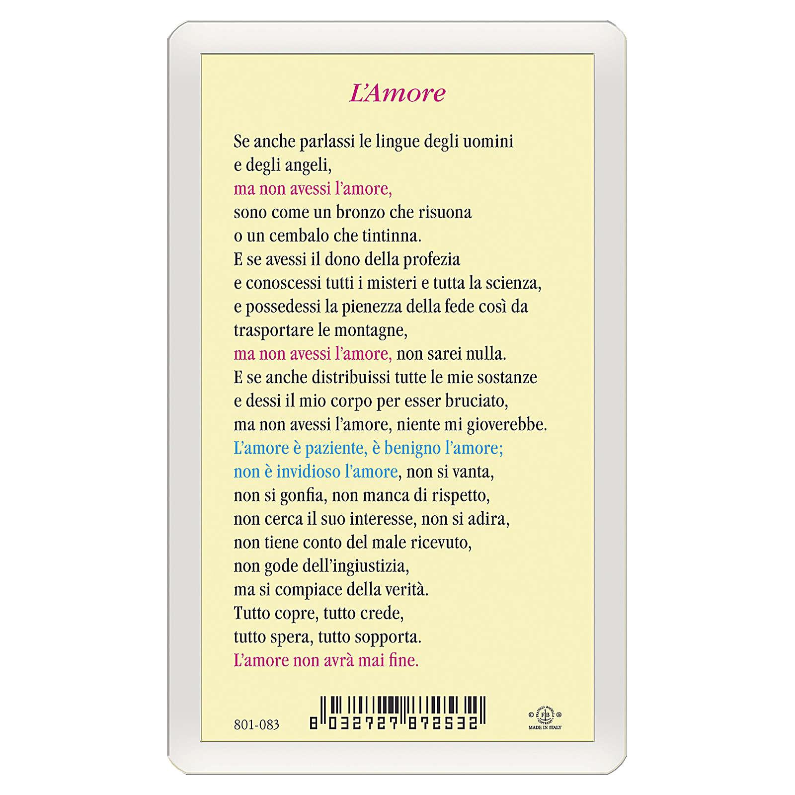 Santino San Paolo L'Amore ITA 10x5 4