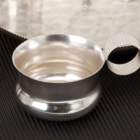 Servizio battesimo argento satinato s3