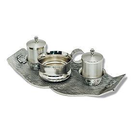 Servizio battesimo piatto decoro croci s1