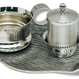 Servizio battesimo piatto decoro croci s2