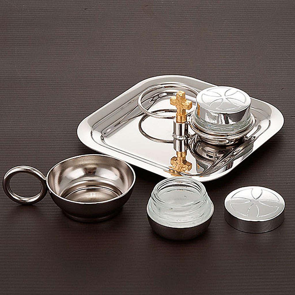 Baptism set silver-plated 3