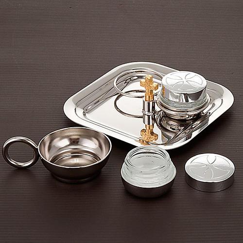 Baptism set silver-plated 2