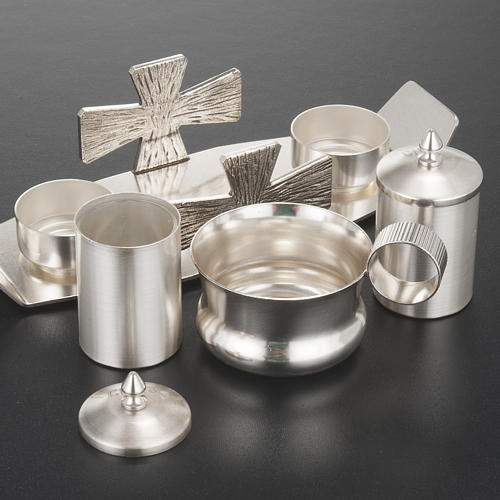 Baptism set with crosses 2
