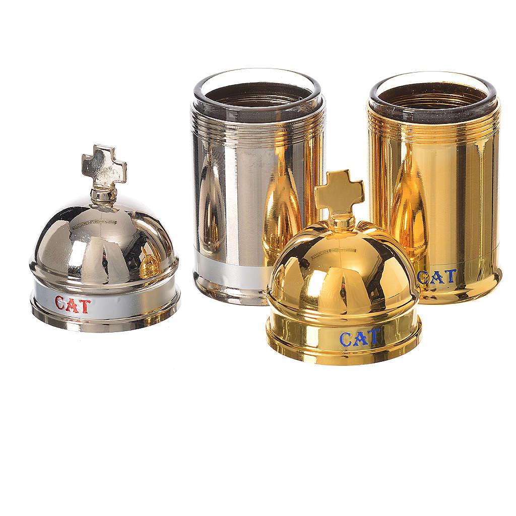 Vaso para el aceite sacro catecúmenos Vintage 3