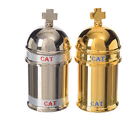 Catechumens holy oil stock, Vintage style s3