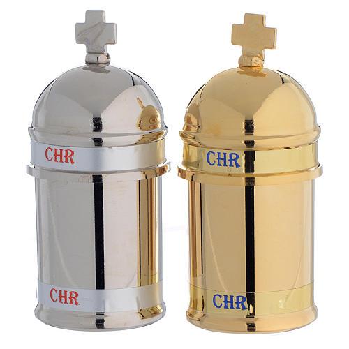 Chrism holy oil stock, Vintage 1