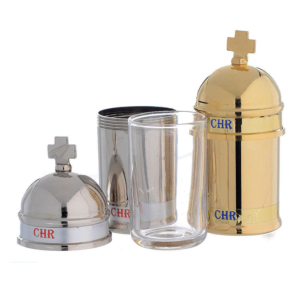 Vaso aceite sagrado crisma Vintage 3